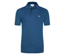 Poloshirt, Classic Fit in Petrol