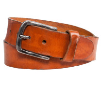 Rustikaler Vintage-Gürtel in Hellbraun
