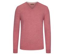 V-Ausschnitt Pullover, 100% Merinowolle