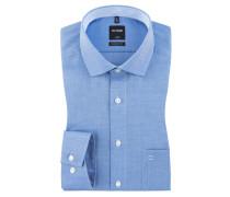 Luxor modern fit Hemd, feine Struktur von Olymp in Royal für Herren