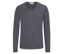 Pullover aus reiner Schurwolle, V-Neck