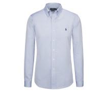 Custom Fit Oxfordhemd in Hellblau