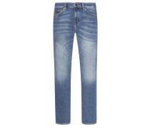 5-Pocket Jeans mit Stretchanteil, Delaware, Slim Fit