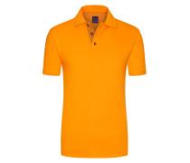 Regular Fit Poloshirt in Orange