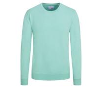 Sweatshirt im Washed-Look in Mint