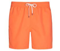 Modische Badeshorts in Orange