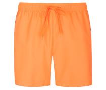 Badehose, Drawstring, uni in Orange