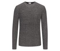 Pullover im Wollmix in Anthrazit