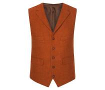 Weste in Orange