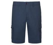 John Light Twill Cargo Shorts, Uni in Marine