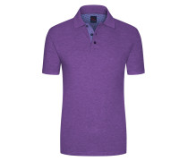 Regular Fit Poloshirt in Lila