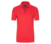 Regular Fit Poloshirt in Rot