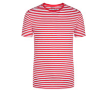 T-Shirt, O-Neck in Rot