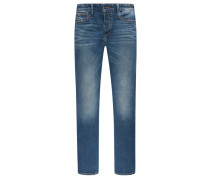 Used 5-Pocket-Jeans, Razor, Slim Fit in Blau