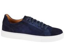 Sneaker aus Wildleder in Blau