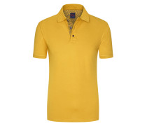 Regular Fit Poloshirt in Gelb