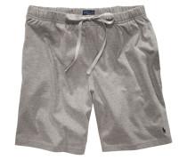 Jogging-Shorts in Grau