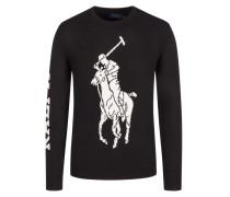 Pullover mit Big-Pony-Logo,