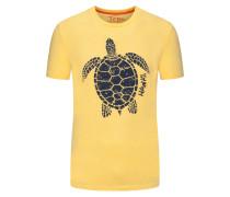 T-Shirt mit Schildkrötenmotiv, bequeme Passform