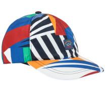 Multicolour-Cap in Blau