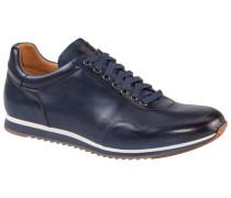 Hochwertiger Ledersneaker in Blau