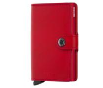 Geldbörse mit Cardprotector in Rot