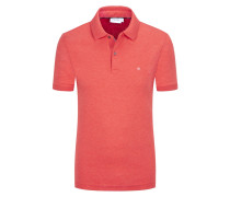 Poloshirt in Jersey-Qualität, Slim Fit in Rot