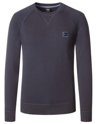 Sweatshirt, Wyan in Marine