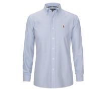 Oxfordhemd Slim Fit in Blau