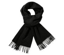 Weicher Schal aus 100% Kaschmir in Schwarz