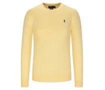 Pullover, Slim Fit in Gelb