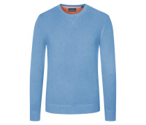 Pullover, Pima Cotton-Kaschmir-Mix in Hellblau