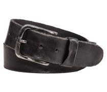 Rustikaler Vintage-Gürtel in Schwarz