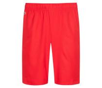 Kurze Sporthose in Rot