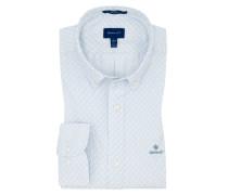 Oberhemd mit modischem Muster, Regular Fit