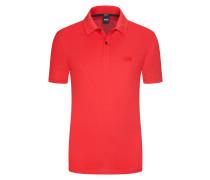 Klassisches Poloshirt in Pima-Baumwolle in Rot