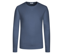 Weiches Sweatshirt in Blau