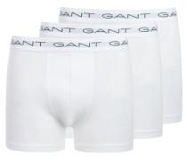 Dreierpack Trunk-Shorts in Weiss