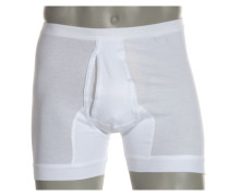 Pants, Feinripp in Weiss