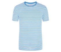 T-Shirt, O-Neck in Hellblau