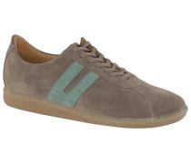 Sneaker in Veloursleder, BW-Sport Sohle in Sand