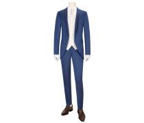Gala-Anzug mit eleganter Weste und Plastron