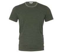 T-Shirt, O-Neck, mit Streifenmuster in Marine