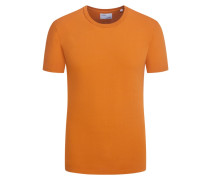 T-Shirt, O-Neck in Orange