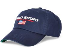 Classic Sport Cap mit Logo-Stickerei in Marine