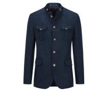 Edler Loden-Janker, Hunting Jacket in Blau