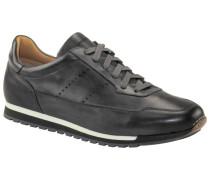Ledersneaker in Anthrazit
