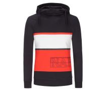 Sweatshirt mit Kapuze in Marine