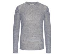 Leichter Pullover mit weitem Rundhalsausschnitt