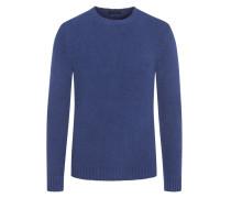 Pullover mit Stretchanteil in Blau